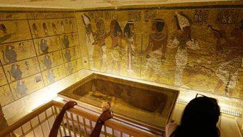 Indagan nuevas anomalías en la tumba de Tutankamón