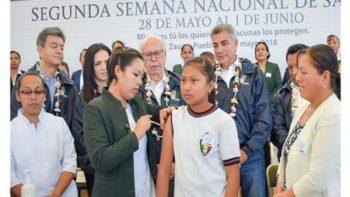 Arranca Segunda Semana Nacional de Salud