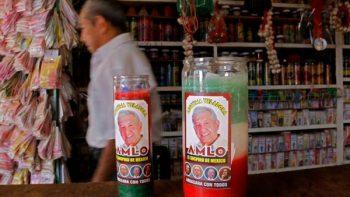 Lanzan la 'legítima veladora' para que gane AMLO
