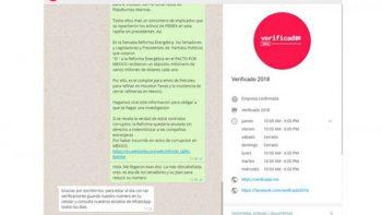 Verificado 2018 analizará cadenas electorales en Whatsapp