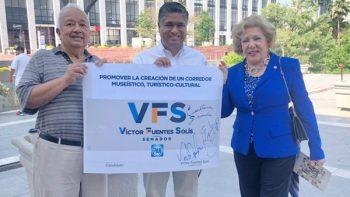 Promoverá Víctor Fuentes la creación de un corredor museístico, turístico y cultural