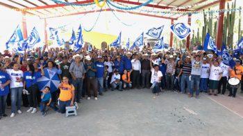 Realiza Víctor Fuentes gira por municipios del sur de Nuevo León