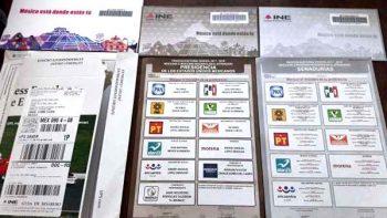 Demandan partidos subsanar error en sobres del voto extranjero