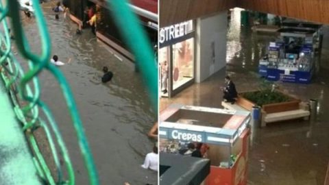 Deja tormenta severas inundaciones en Guadalajara