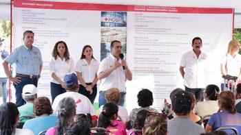 Se compromete Heriberto Treviño en atender necesidades de juarenses