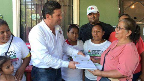 Benito Sáenz apoya la promesa de Meade de legalizar 'chocolates'