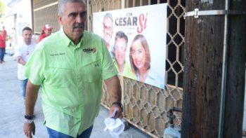 Intensifican César Garza su campaña a la alcaldía de Apodaca