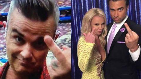 La 'Britney señal', el gesto obsceno más famoso