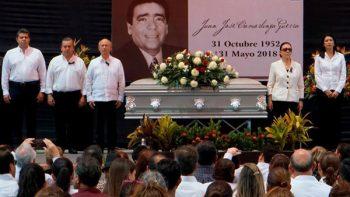 Da PRI último adiós a Juan José Carmolinga Guerra