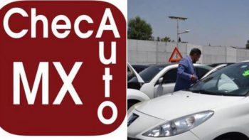 ChecAuto MX, la app para conocer la Zona de Riesgo Vehicular