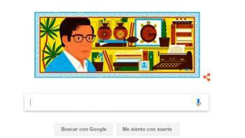 Google celebra a José Emilio Pacheco a 79 años de su nacimiento