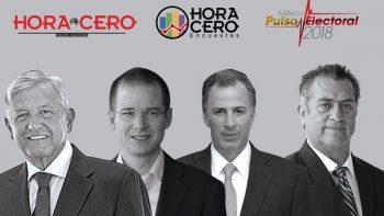 Hora Cero medirá a los presidenciables en sondeo nacional