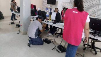 PREP realiza último simulacro para evitar fallas el día de los resultados