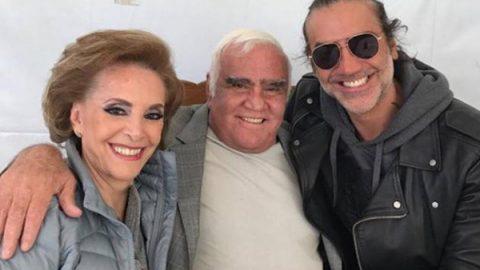 Alejandro Fernández comparte foto con su papá