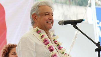 Ya sólo pateo el bote en la campaña, dice López Obrador