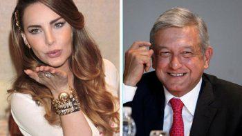 Belinda publica video en apoyo López Obrador