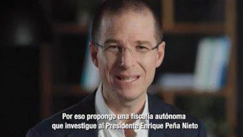 INE decide mantener spot de Anaya contra a Peña Nieto