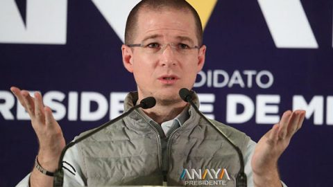 'No voy a polemizar' por expulsión de Ernesto Cordero, dice Anaya