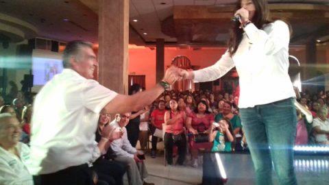 Se comprometen candidatos del PRI a gestionar Metro hasta Apodaca