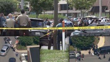 Trump envía sus condolencias a víctimas del tiroteo de Maryland
