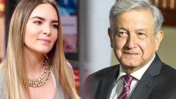 A Belinda le gustaría apoyar al gobierno de AMLO