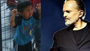 Miguel Bosé llama 'criminal' a Trump por situación de niños migrantes