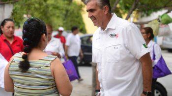 Firma César Garza acuerdo anticorrupción
