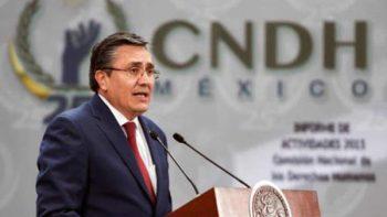 CNDH presenta inconstitucionalidad contra reforma en Salud