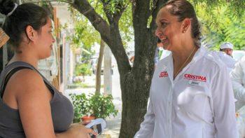 Construiré obras de drenaje pluvial: Cristina Díaz