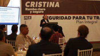 Crisitina propone seguridad con tecnología de vanguardia
