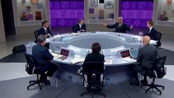 Debate se apodera de la redes sociales; baja audiencia en tv