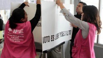 Listo Nuevo León para jornada electoral