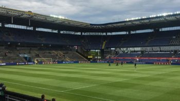 Estadio Brondby, recinto que pisará en Tri antes del Mundial