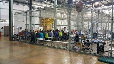 Exhiben 'La Perrera', centro de detención para niños migrantes en EU