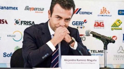 Rechaza Alejandro Ramírez división en Consejo Mexicano por elecciones