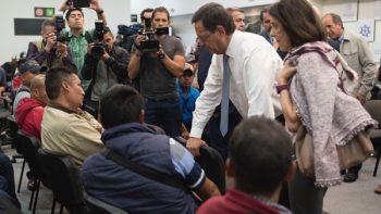 Secretario del Trabajo se reúne con jornaleros mexicanos en Canadá