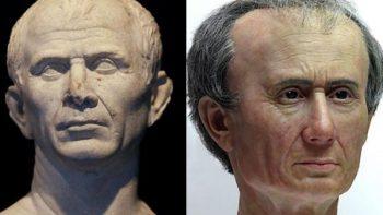 Científicos holandeses revelan el verdadero rostro de Julio César