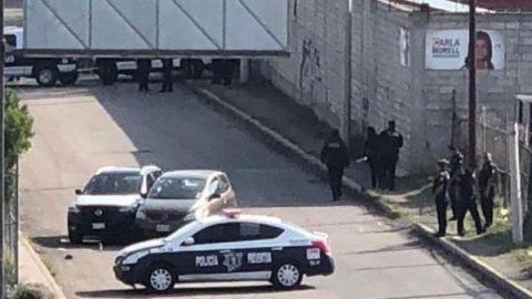 Mueren dos presuntos delincuentes en balacera en Texcoco