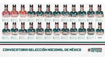 Dan a conocer lista de 23 jugadores de México para Mundial