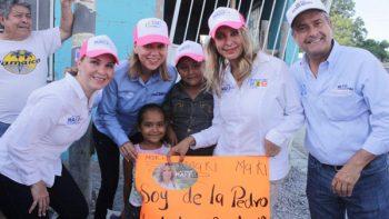 Sur de Reynosa apoya a Maki