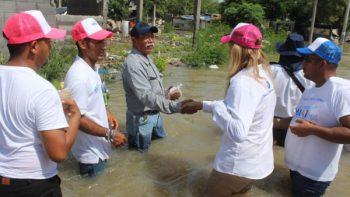 Maki más unida que nunca con familias afectadas por las lluvias