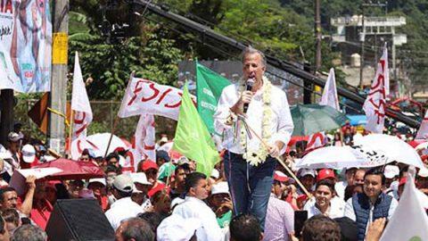 Antorcha Campesina ofrece 2 millones de votos a Meade