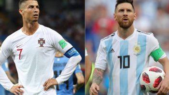 El triste adiós de Cristiano y Messi