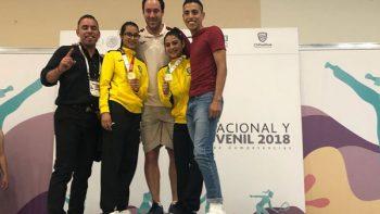 Matilda Cesarman Nava disfruta su primer oro en Olimpiada Nacional