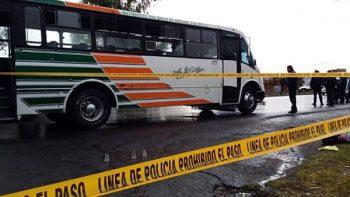 Asesinan a pasajero durante asalto en la carretera Texcoco-Lechería