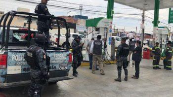 Profeco se apoya con Gendarmería para verificar gasolineras de Puebla