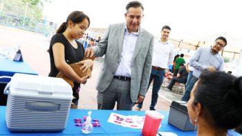 Llevan Brigada Médico-Asistencial a sectores vulnerables de San Nicolás