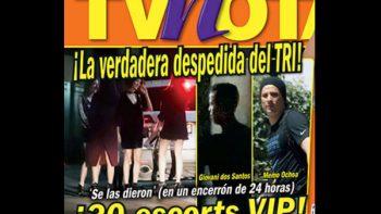 Seleccionados mexicanos tienen 'cariñosa fiesta' de despedida, según revista
