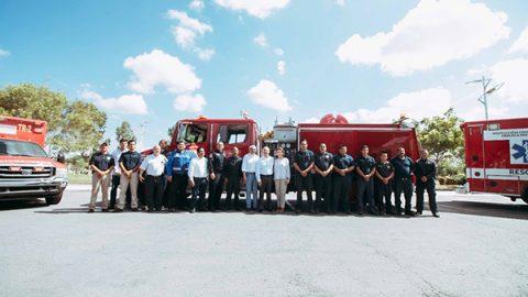 Recibe Matamoros equipo donado por la ciudad de Brownsville