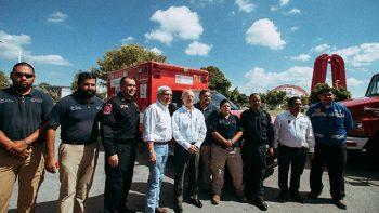 Recibe Matamoros equipo donado por la ciudad de Brownsville para Protección Civil